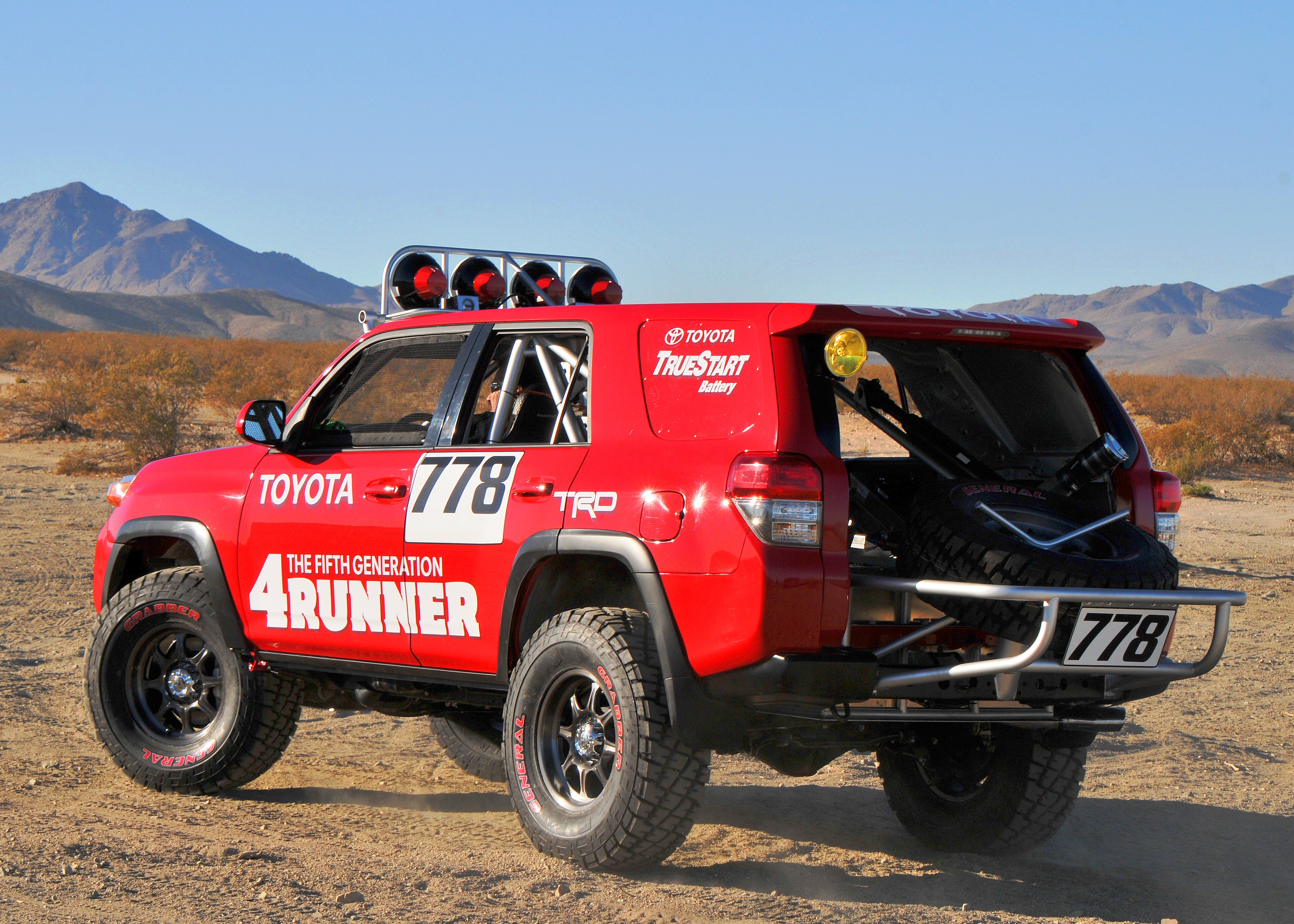red line synthetic oil toyota 4runner takes 2nd the baja