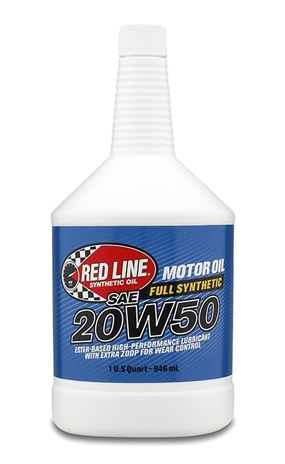 Red line synthetic oil 20w50 motor oil for 20w50 motor oil temperature range