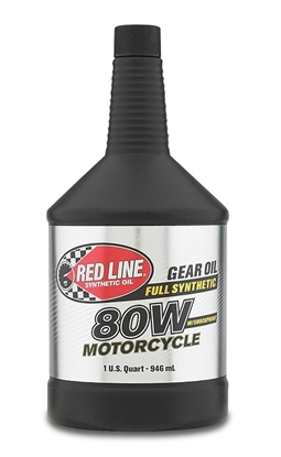 80W Motorcycle Gear Oil with ShockProof®