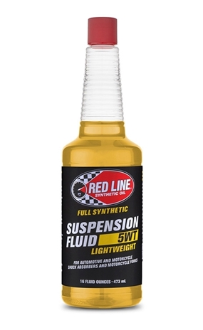 Red Line Synthetic Oil. LightWeight 5wt Suspension Fluid