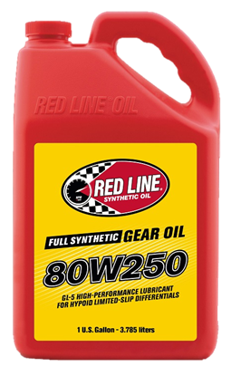 80W250 GL-5 Gear Oil