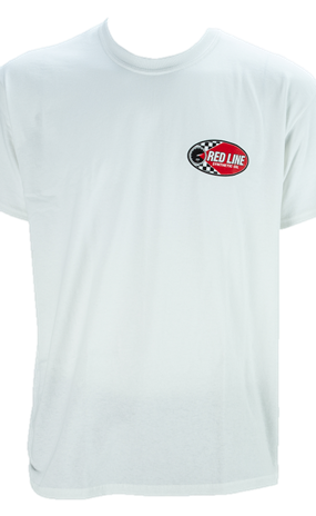 Front White Oval T-Shirt