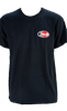 Black Oval T-Shirt Front